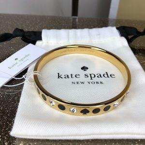 Kate spade spot the spade bangle bracelet